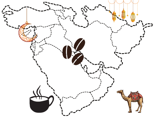 Coffee History in Middle East